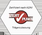 Träger Zertifikat AZAV - Reg. Nr. A60305