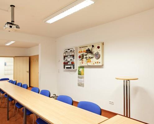Große, helle und funktional ausgestattete Seminarräume